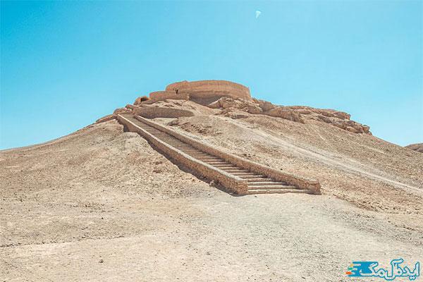 برج-خاموشان-یزد