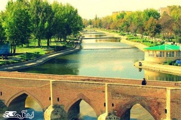 رودخانه-بالخلی-نیر رودخانه های یکی از مکانهای دیدنی نیر را تشکیل می دهد