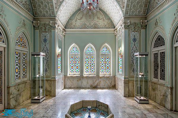 عمارت-قصر-آیینه-یزد