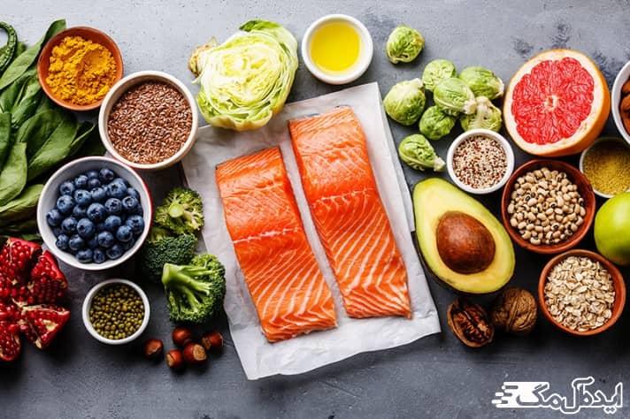 بهترین غذاها برای چاق شدن