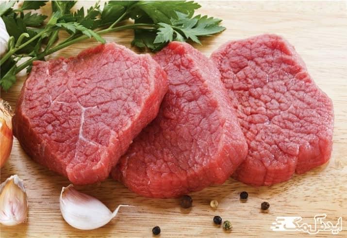 سالم ترین راه های چاق شدن | مصرف گوشت قرمز