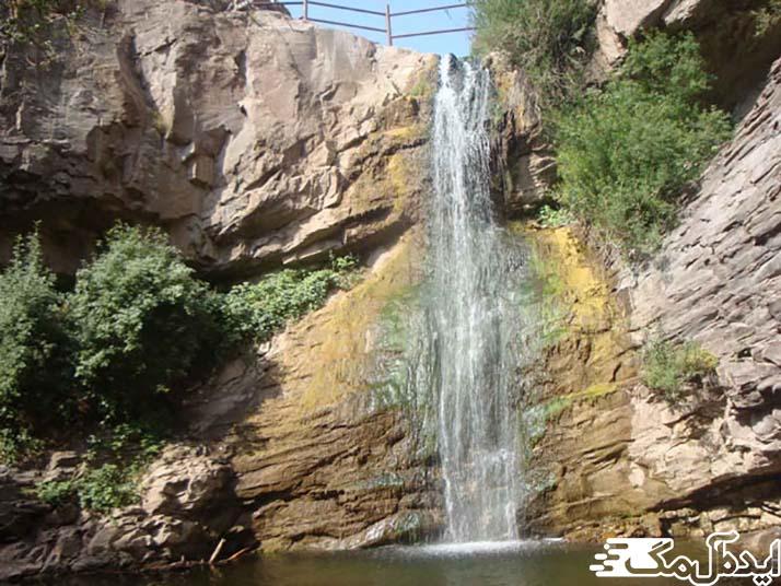آبشاری گیوک بیرجند از جاذبه های گردشگری خراسان جنوبی