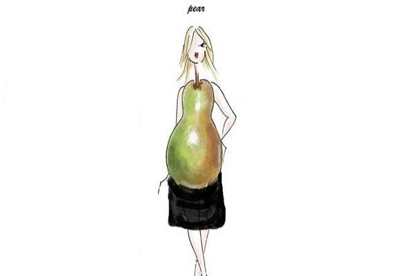 انتخاب لباس مناسب برای فرم بدن گلابی شکل