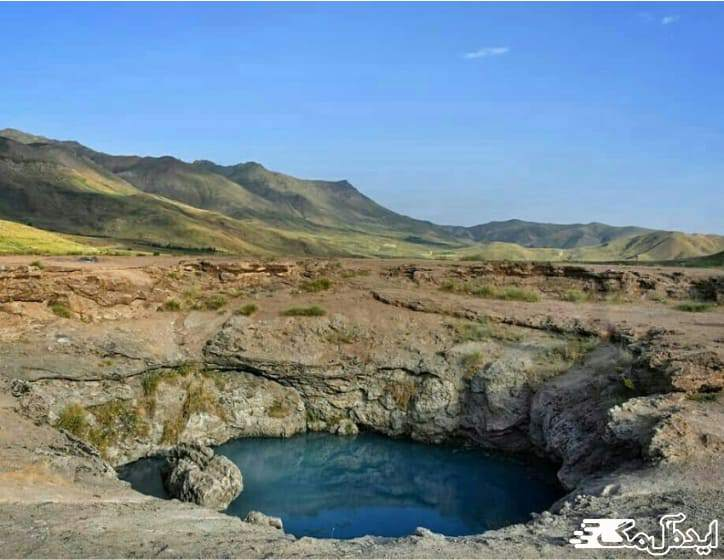 آبشار و چشمه های آبگرم قینرجه