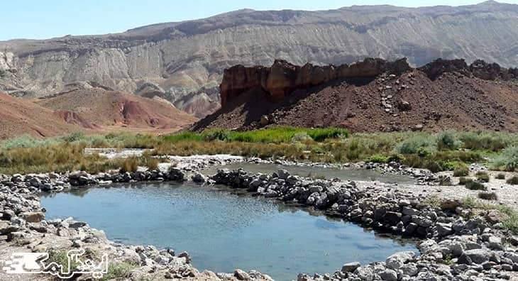 آب های گرم احمدآباد