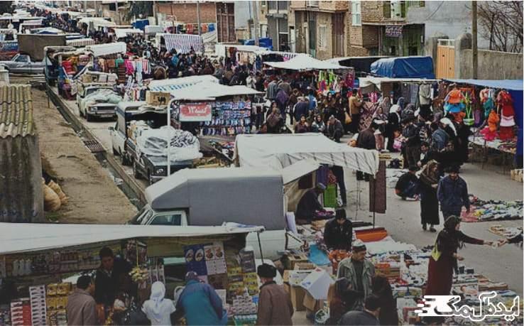بازار شلمان | گردشگری