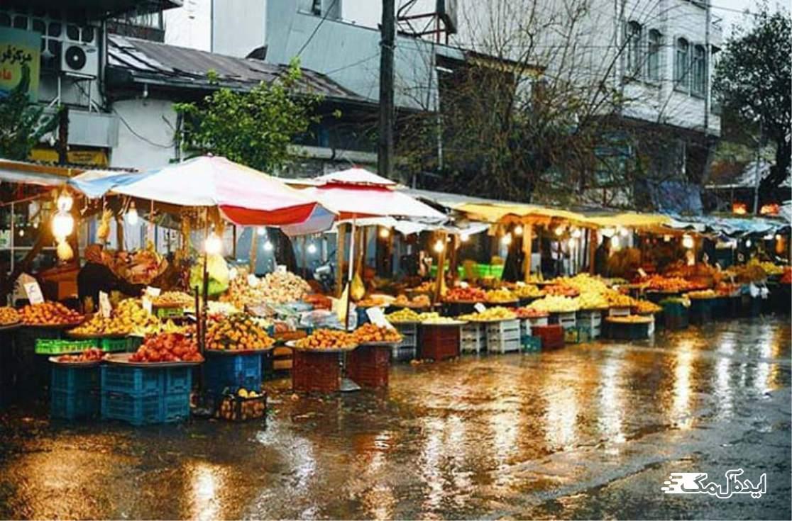 صومعه سرا | بازار هفتگی