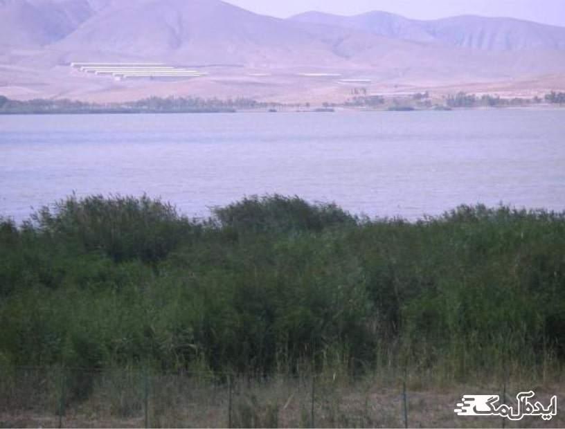 تالاب زیبای الیترگول در آذربایجان شرقی