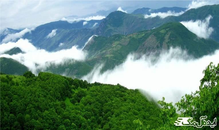 جنگل ارسباران | اهر