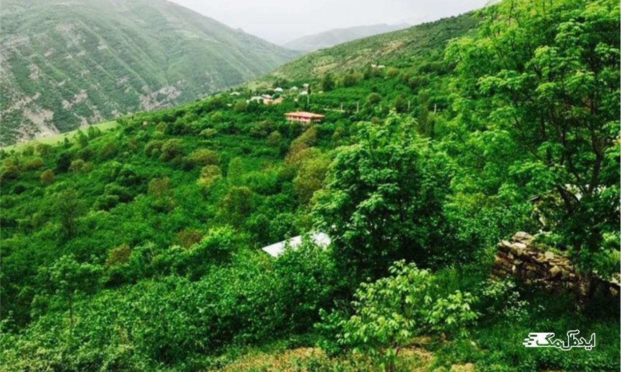 رحیم آباد | روستای درسنک