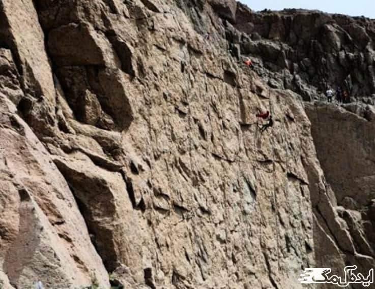دیوار صخره نوردی منجیل
