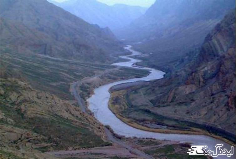 رودخانه ارس در جلفا