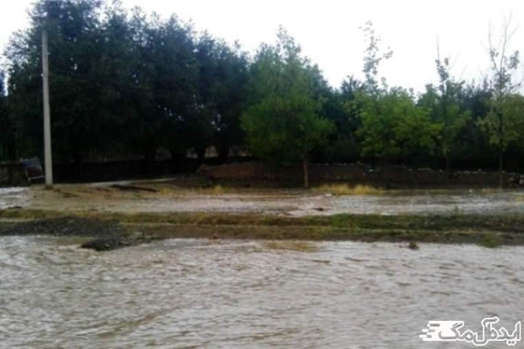 رودخانه گزنیز در شهر کلاچای