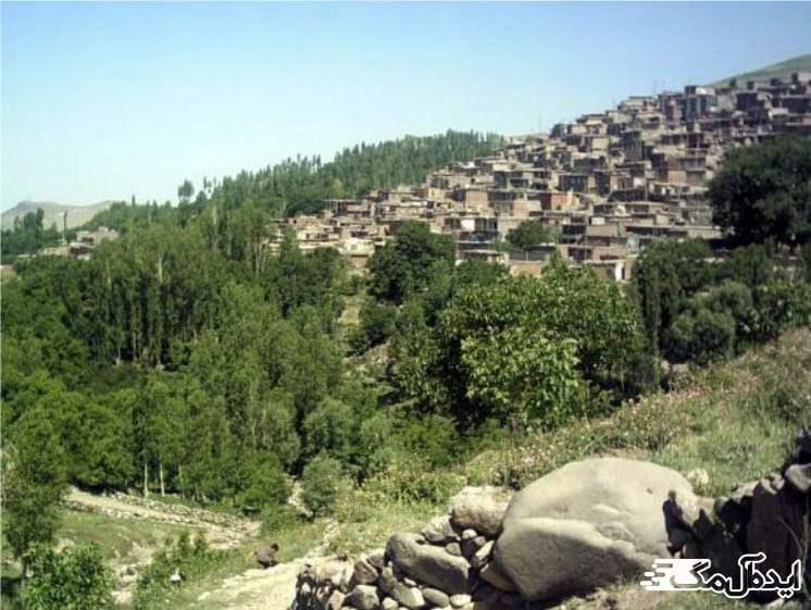 روستای گنبرف | مناطق گردشگری اسکو