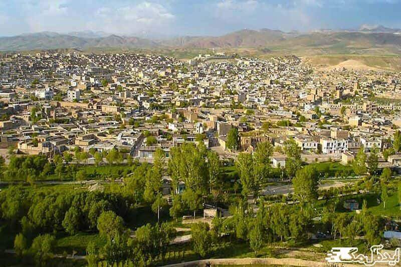شهرستان تکاب | ایده آل مگ