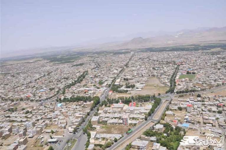 شهرستان مرند در آذربایجان شرقی