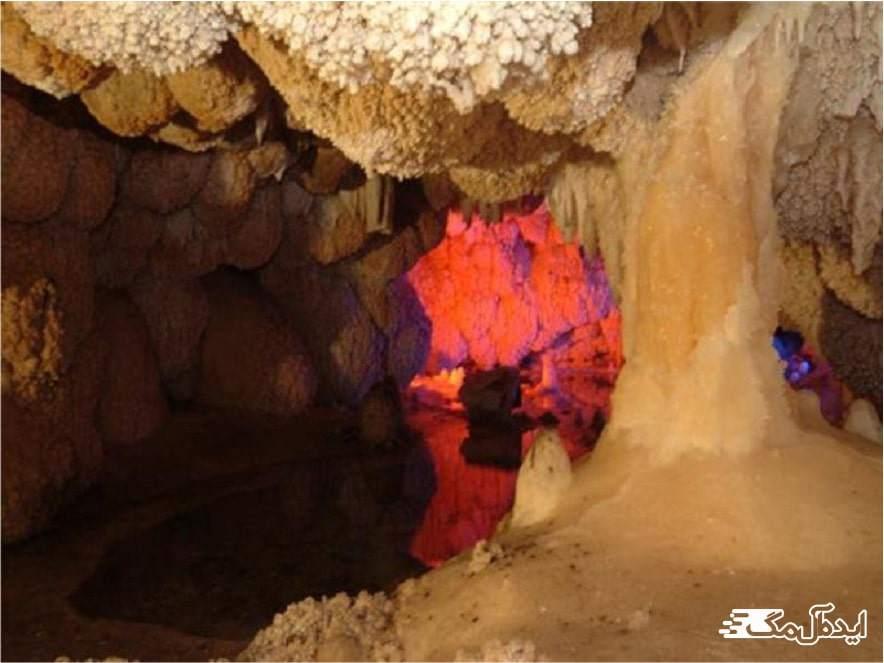 غار اسکندر سعید آباد