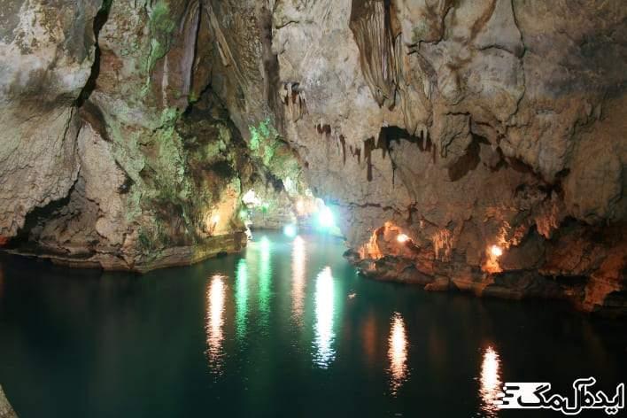 غار سهولان | دیدنی های مهاباد