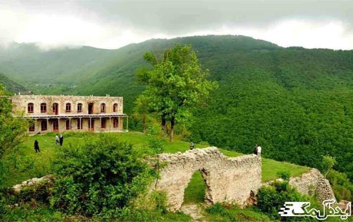 قصر آینالو | خدا آفرین