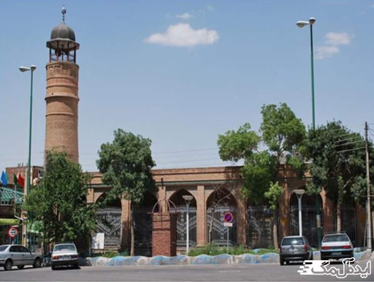 مسجد جامع سبزه میدان | اسکو