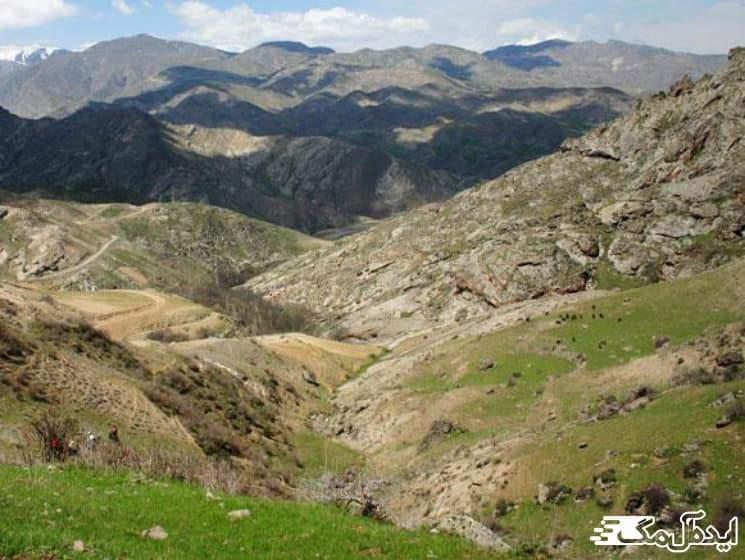 منطقه تاریخی قوبول دره سی