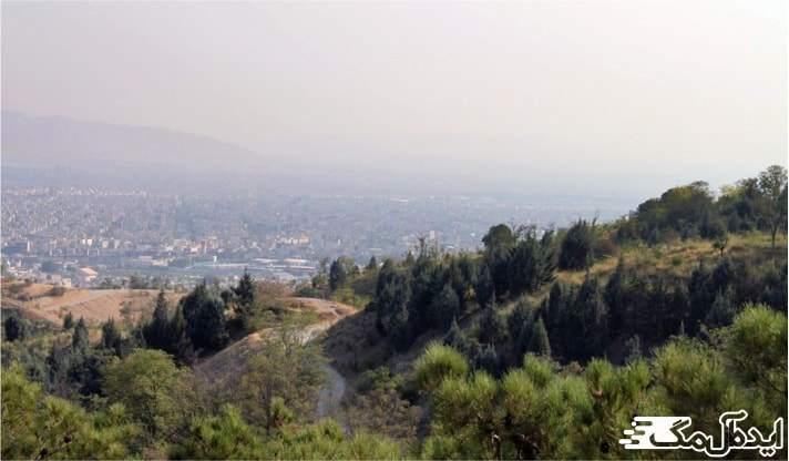 پارک های شرق تهران