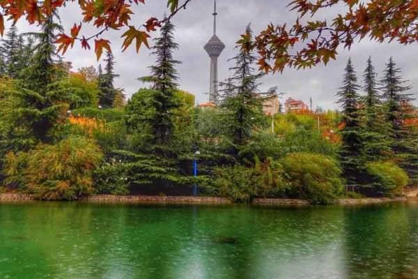 پارک های دنج غرب تهران