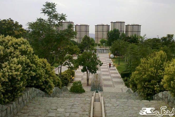 پارک پلیس در شرق تهران