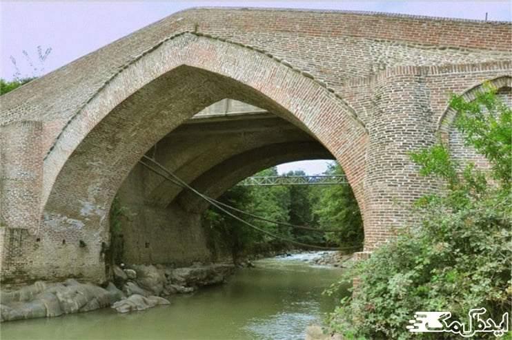 جاهای دیدنی رضوانشهر | پل آجری پونل