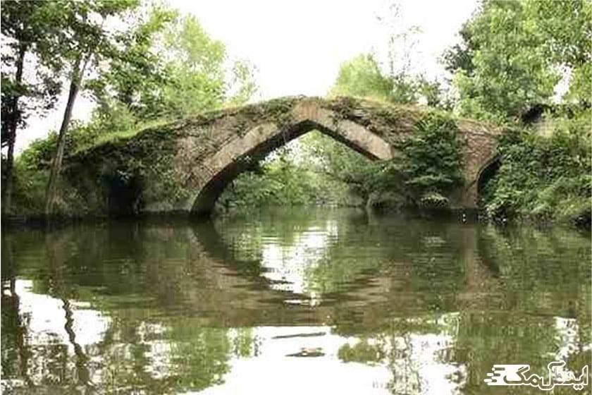 پل تاریخی شفا رود | رضوانشهر