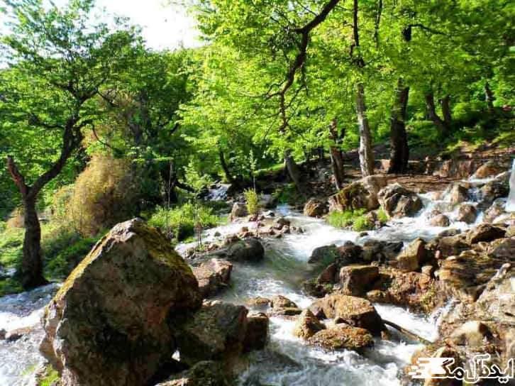 چشمه کلشتر | شهر منجیل