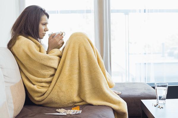 درمان خانگی کاهش تب