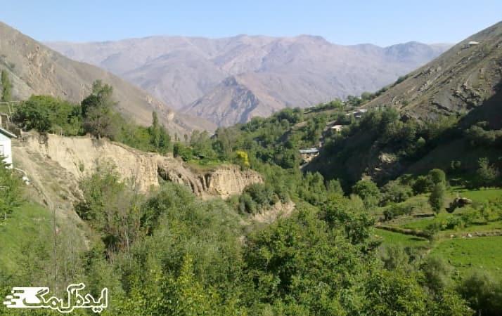 روستای نج در شهر بلده