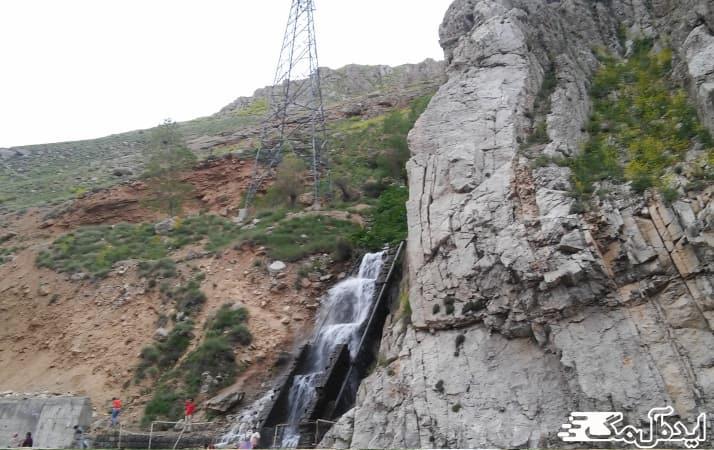 آبشار قلعه دختر