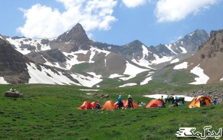 علم کوه در کجور