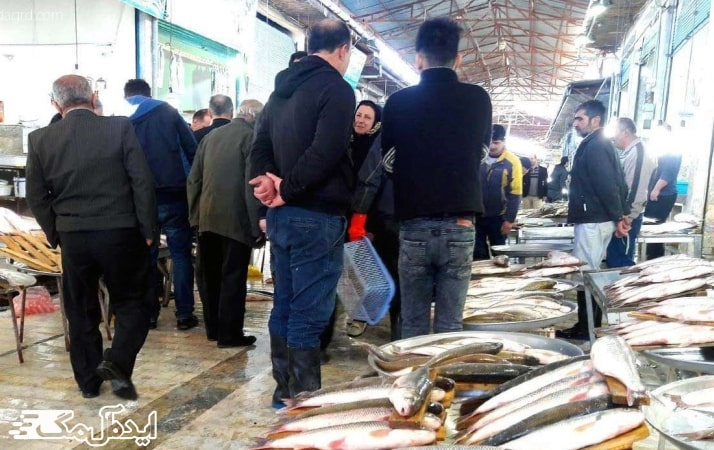 بازارهای محلی سرخرود