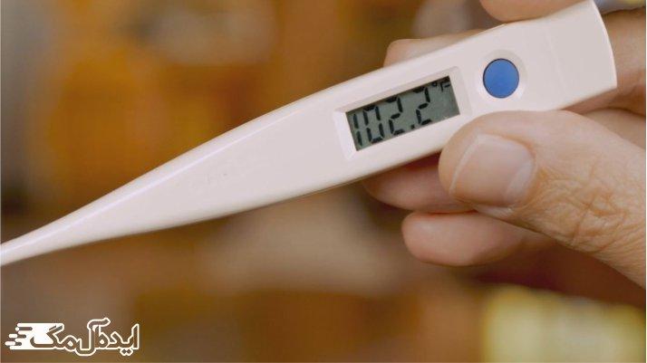 علت های ایجاد تب
