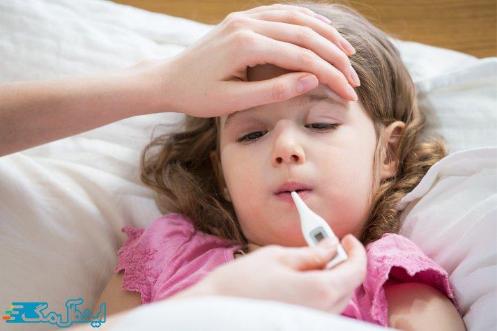 درمان خانگی برای کاهش تب