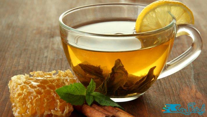 ترکیب چای و عسل