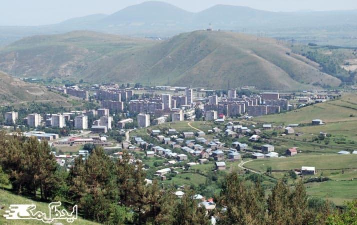 شهر زیبای هرازدان