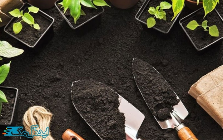 خاک گلدان مناسب