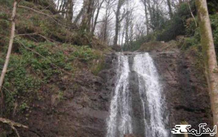 آبشار نوک پشت در کیاسر