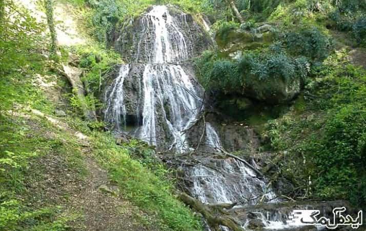 آبشار کوهمیان در آزادشهر