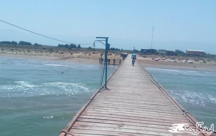خلیج گرگان در بندرگز