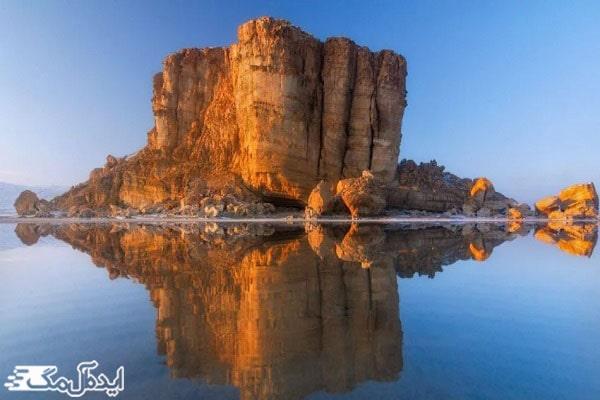 جزایر دریاچه زیبای ارومیه