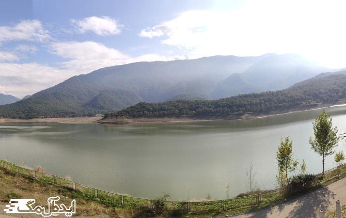 دریاچه سد زرین گل