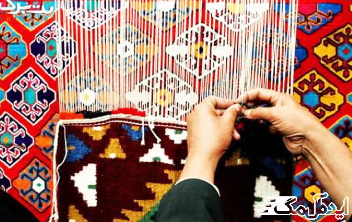 معرفی شهر انبارآلوم : صنایع دستی