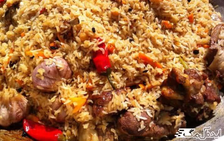 غذاهای محلی سیمین شهر