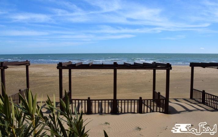 ساحل بیلگاه از جاهای دیدنی باکو