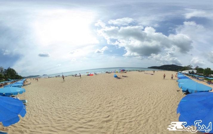 ساحل کارون در جزیره پوکت